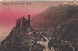 TIGNALE-BRESCIA-LAGO DI GARDA-MADONNA DEL CASTELLO-CARTOLINA NON VIAGGIATA-ANNO 1915-1925 - Brescia