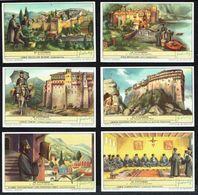 LIEBIG - NL - 6 Chromos - Reeks/série S.1651 - DE ATHOSBERG - Le Mont Athos. - Liebig