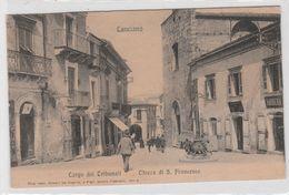 Cartolina - Lanciano - Largo Tribunali - Chiesa Di San Francesco - Chieti