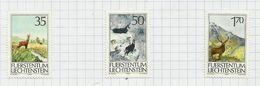 Liechtenstein N°848 à 850 Neufs Avec Charnière* Cote 4.50 Euros - Liechtenstein