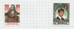 Liechtenstein N°861, 862 Neufs Avec Charnière* Cote 5.50 Euros - Liechtenstein