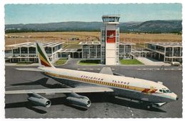 FORMAT  CPA   ETHIOPIAN AIRLINES  -     BOEING FAN JET AT ADDIS ABABA AIRPORT - 1946-....: Era Moderna