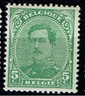 137C  **  Type IV  8 - 1915-1920 Albert I