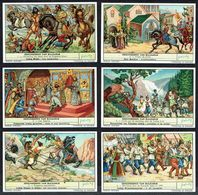 LIEBIG - NL - 6 Chromos - Reeks/série S.1743 - GESCHIEDENIS VAN BULGARIJE - Histoire De La Bulgarie. - Liebig