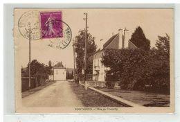 71 FONTAINES #12536 RUE DE CHAMILLY - Altri Comuni