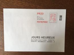 PAP REPONSE CIAPPA & KAVENA JOURS HEUREUX 144799 - Prêts-à-poster: Réponse /Ciappa-Kavena