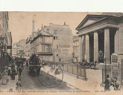 PARIS 7è - La Rue Saint Dominique Et L'Eglise St Pierre Du Gros Caillou - Arrondissement: 07
