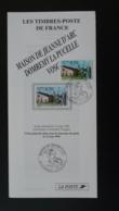 Jeanne D'Arc Moyen Age Medieval Domremy 88 Vosges Notice FDC Avec Timbre - Multilingual FDC 1996 - France