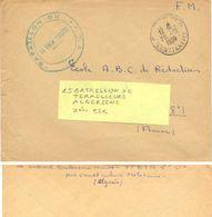 GUERRE D'ALGÉRIE 15 BATAILLON DE TIRAILLEURS ALGÉRIENS 2ème Cie CONSTANTINE 28-12-1955 - Guerra De Argelia