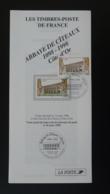 Abbaye De Citeaux 21 Cote D'Or Notice FDC Avec Timbre - Multilingual FDC 1998 - FDC