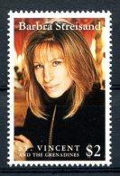 St. Vincent Grenadines, 1993, Barbra Streisand, Singer, Music, MNH, Michel 2612 - St.Vincent (1979-...)