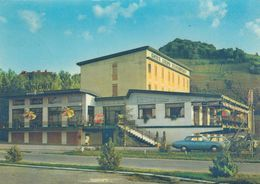 BRONI-PAVIA-HOTEL-DANCING-=LIROS=- AUTO-CAR-VOITURES-CARTOLINA VERA FOTOGRAFIA VIAGGIATA IL 9-8-1968 - Pavia