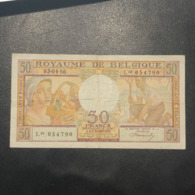 BILLET BELGIQUE - TB - 50 FRANCS - ANNEE 1956 - [ 2] 1831-... : Reino De Bélgica