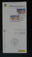 élections Au Parlement Européen Folon Notice FDC Avec Timbre - Multilingual FDC 1999 - 1990-1999