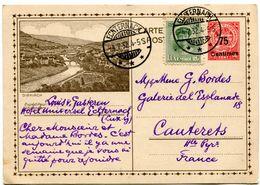 ECHTERNACK Entier + Complément Du 4/07/1932 Pour CAUTERETS  Paypal Not Accept - Stamped Stationery