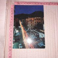 C-92895 TORRE DEL GRECO VIA VITTORIO VENETO DI NOTTE PANORAMA DISTRIBUTORE BENZINA ESSO - Torre Del Greco