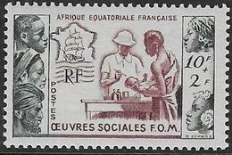 A.E.F. N°227 **  Neuf Sans Charnière Luxe MNH - A.E.F. (1936-1958)