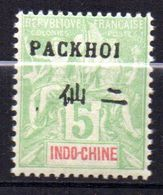 Col17  Colonie Pakhoi N° 4 Neuf X MH Cote 6,00€ - Unused Stamps