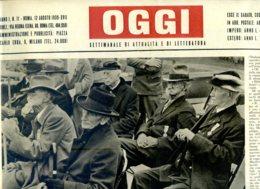 OGGI - ANNO I - N° 11 - 12 AGOSTO 1939 - NEW YORK - VETERANI DELLA GUERRA DI SECESSIONE IN MOSTRA ALL'ESPOSIZIONE - Oorlog 1939-45