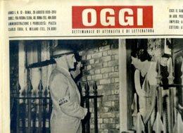 OGGI - ANNO I - N° 13 - 26 AGOSTO 1939 - DIFESA ANTIAEREA A LONDRA - CONTROLLO NOTTURNO DELLE SERVE - Oorlog 1939-45