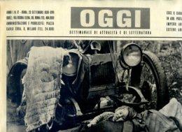 OGGI - ANNO I - N° 17 - 23 SETTEMBRE 1939 - FUGGIASCHI POLACCHI VERSO IL CONFINE ROMENO - Oorlog 1939-45