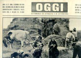 OGGI - ANNO I - N° 27 - 2 DICEMBRE 1939 - FAMIGLIA ITALIANA PER LA LIBIA - War 1939-45