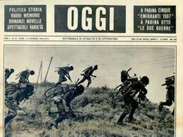 OGGI - ANNO I - N° 29 - 16 DICEMBRE 1939 - ESERCITAZIONI DI BERSAGLIERI OGGI - War 1939-45