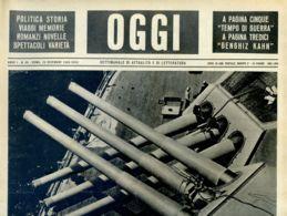 OGGI - ANNO I - N° 30 - 23 DICEMBRE 1939 - LE STRADE DEL MARE - War 1939-45