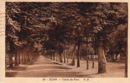 B68282 Cpa Dijon - Cours Du Parc - Dijon