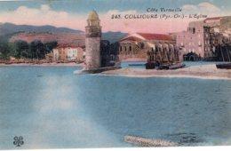 B68290 Cpa Collioure - Eglise - Collioure