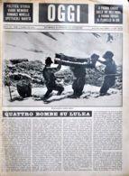 OGGI - ANNO II - N° 4 - 27 GENNBAIO 1940 - BUONA GUARDIA AL CONFINE ITALIANO - War 1939-45