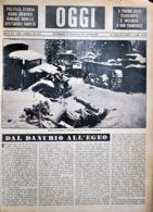 OGGI - ANNO II - N° 5 - 3 FEBBRAIO 1940 - RESTI DI UNA DIVISIONE MOTORIZZATA RUSSA - Oorlog 1939-45