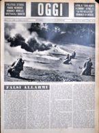 OGGI - ANNO II - N° 6 - 10 FEBBRAIO 1940 - ESERCITAZIONI DI LANCIAFIAMME NELLA CAMPAGNA ROMANA - War 1939-45
