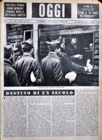 OGGI - ANNO II - N° 11 - 16 MARZO 1940 - PRIGIONIERI FRANCESI IN GERMANIA ALL'ORA DEL RANCIO - Oorlog 1939-45