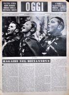 OGGI - ANNO II - N° 12 - 23 MARZO 1940 - CORO DI BALILLA - War 1939-45