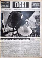 OGGI - ANNO II - N° 16 - 20 APRILE 1940 - GENOVA, PREPARATIVI PER LA PRTENZA DI UN TRANSATLANTICO - War 1939-45