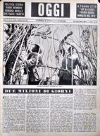 OGGI - ANNO II - N° 18 - 4 MAGGIO 1940 - TRIENNALE D'OLTREMARE: COSTRUZIONE DI TUCUL - Oorlog 1939-45