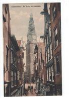 Amsterdam - St Anna Dwarsstraat Brood Fabriek De Jonge 1920 - Amsterdam