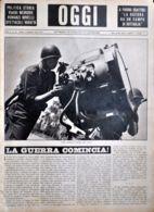 OGGI - ANNO II - N° 20 - 18 MAGGIO 1940 - DIFESA ANTIAEREA ITALIANA - Oorlog 1939-45
