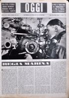 OGGI - ANNO II - N° 21 - 25 MAGGIO 1940 - ARTIGLIERIA TEDESCA SUL FRONTE OCCIDENTALE - Oorlog 1939-45