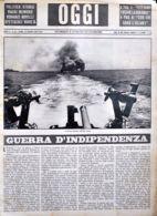 OGGI - ANNO II - N° 24 - 15 GIUGNO 1940 - LA FLOTTA ITALIANA NEL SUO MARE - Oorlog 1939-45