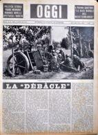 OGGI - ANNO II - N° 25 - 22 GIUGNO 1940 - ARTIGLIERIA ITALIANA DA CAMPAGNA IN AZIONE - War 1939-45