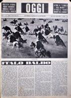 OGGI - ANNO II - N° 27 - 6 LUGLIO 1940 - CAVALCTA LIBICA - War 1939-45