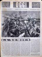 OGGI - ANNO II - N° 30 - 27 LUGLIO 1940 - DEPOSITI DI CARBURANTE E OLEIFICI COLPITI E INCENDIATI DAI NOSTRI AEREI - War 1939-45