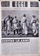 OGGI - ANNO II - N° 35 - 31 AGOSTO 1940 - GUERRA ITALIANA IN AFRICA, VOLONTARI BEDUINI DELLE BANDE CIRENAICHE - War 1939-45