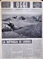 OGGI - ANNO II - N° 38 - 21 SETTEMBRE 1940 - NOSTRE TRUPPE AVANZANTI OLTRE SOLLUM - Oorlog 1939-45