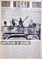 OGGI - ANNO II - N° 39 - 28 SETTEMBRE 1940 - ARTIGLIERIE ANTICARRO AUTOTRASPORTATE NELLA AVANZATA SU SIDI EL BARRANI - War 1939-45