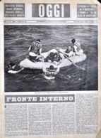 OGGI - ANNO II - N° 41 - 12 OTTOBRE 1940 - ESERCITAZIONI DI SALVATAGGIO DI PILOTI CON BATTELLI PNEUMATICI - Oorlog 1939-45