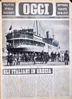 OGGI - ANNO II - N° 45 - 9 NOVEMBRE 1940 - IMBARCO DI TRUPPE PER L'ALBANIA - War 1939-45