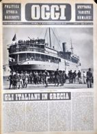 OGGI - ANNO II - N° 45 - 9 NOVEMBRE 1940 - IMBARCO DI TRUPPE PER L'ALBANIA - Oorlog 1939-45
